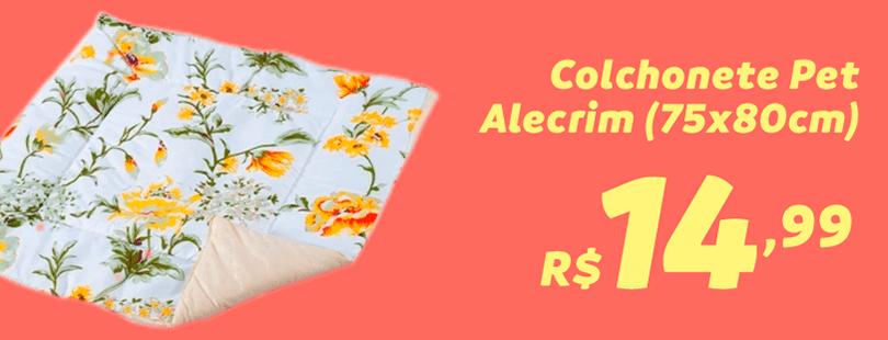 Colchonete pet alecrim (75x80cm)
