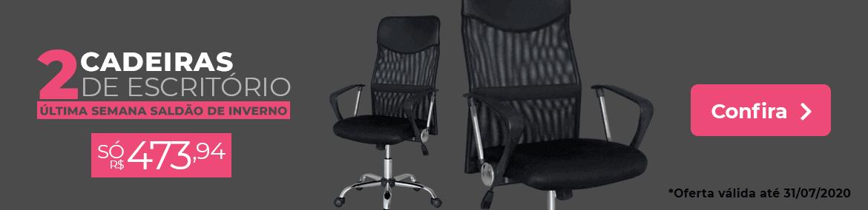 Kit 2 Cadeiras de Escritório