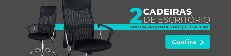 2 Cadeiras de Escritório por um Preço mais que Especial