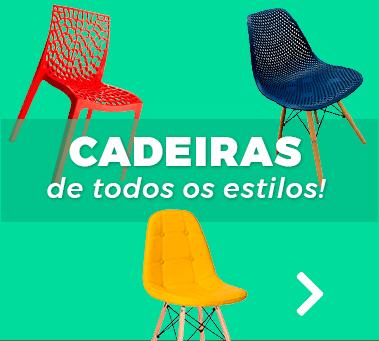 Cadeiras de todos os estilos!