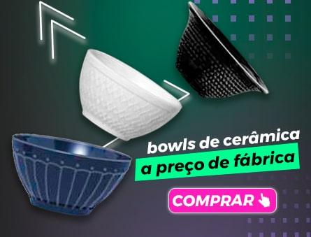 Bowls de cerâmica a preço de fábrica