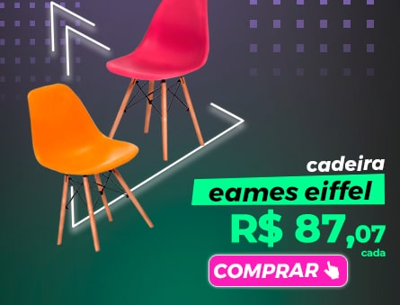 Cadeira eames eiffel R$87,07 cada