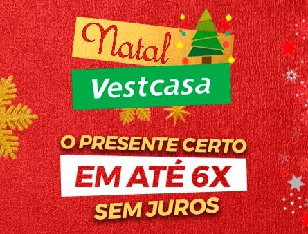 Nata Vestcasa o presente certo em até 6x sem juros