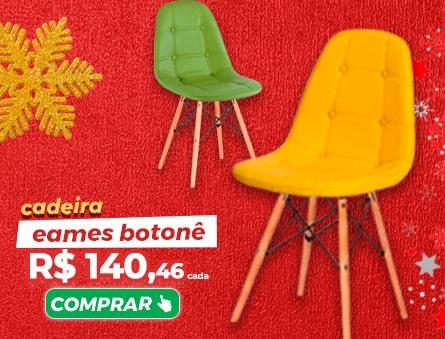 Cadeira eames botonê R$140,46 cada